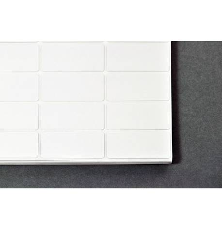 Etiqueta adhesiva amb barrera d'alumini - 19,1 x 38,1 mm