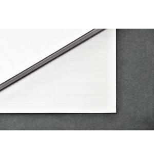 Etiqueta láser adhesiva con barrera de aluminio - 11,1 x 47,6 mm