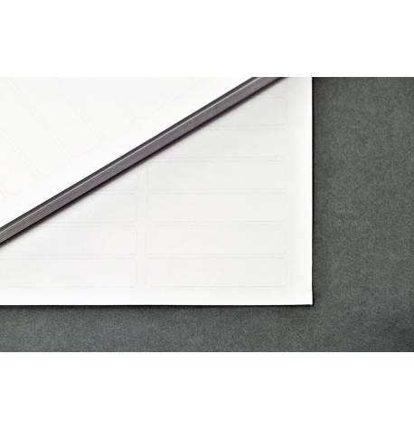 Etiqueta làser adhesiva amb barrera d'alumini - 11,1 x 47,6 mm