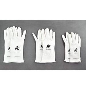 Cotton Gloves with logo - Small size T7
