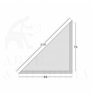 Polypropylene mounting corner