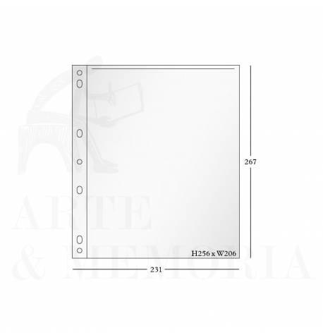 Páginas de polietileno para fotografía