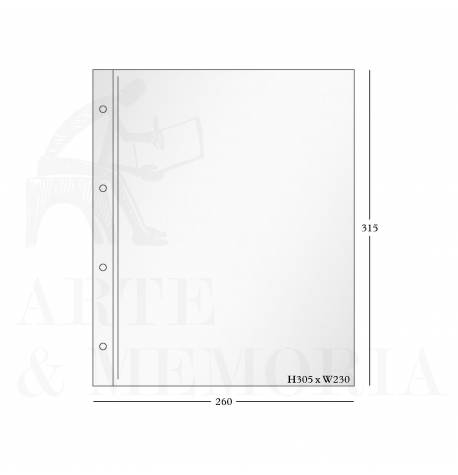 Combined Polyester Photo Storage Pages
