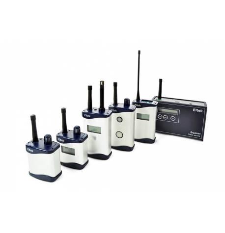 Sistema de registro de datos por radio