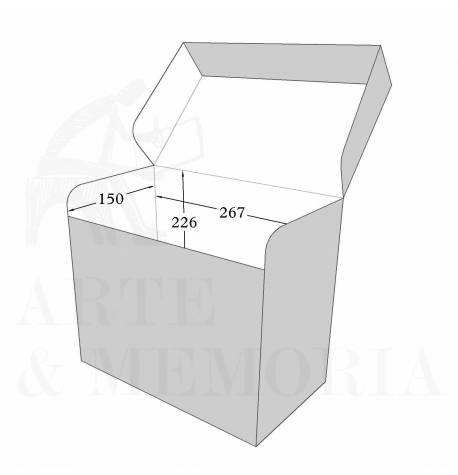 Stapled Hinged Lid Box