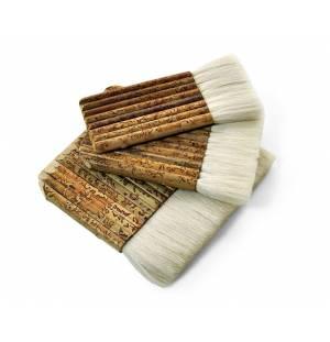 Cepillo chino de bambú y pelo de cabra
