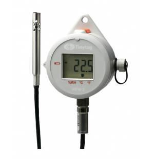 Registrador de temperatura y humedad relativa