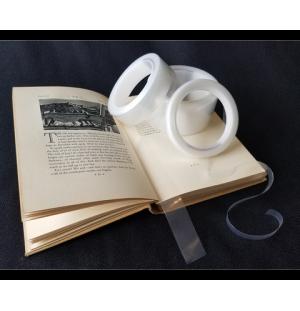 Tira de politileno para el montaje de libros - 63,5 mm x 30 m